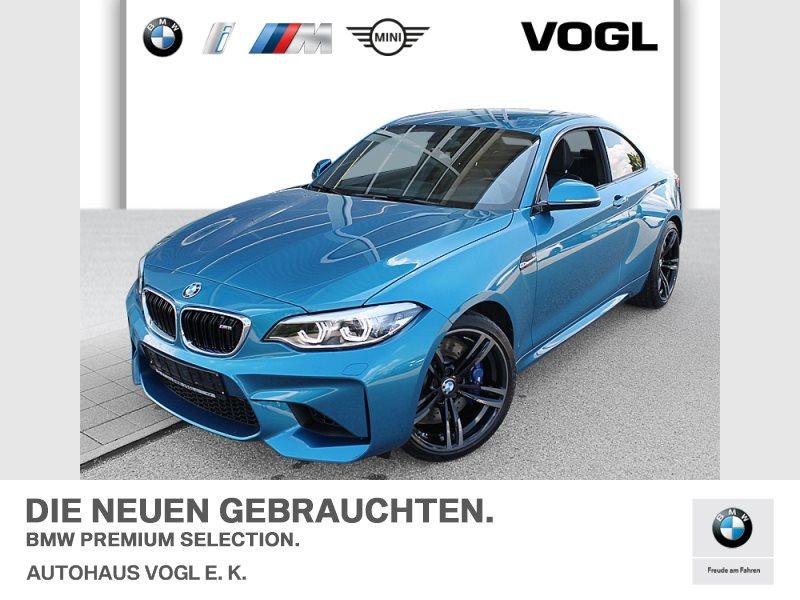 BMW M2 Coupé M Drivers P. HiFi LED WLAN Navi Prof., Jahr 2018, Benzin