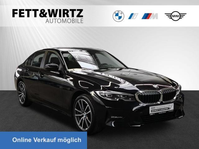 BMW 320d xDrive Aut. Adv. Navi LED Sitzhzg PDC 18''LM, Jahr 2019, Diesel