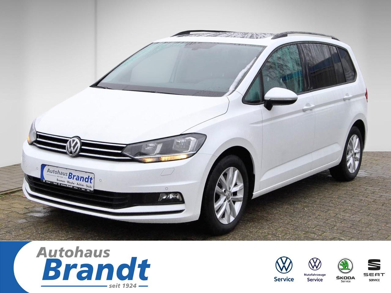 Volkswagen Touran 1.6 TDI Comfortline NAVI*PANO*7-SITZER*AHK, Jahr 2017, Diesel