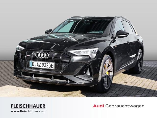 Audi e-tron 55 quattro S line 118.335 *Panoramadach*Assistenzpaket*, Jahr 2021, Elektro