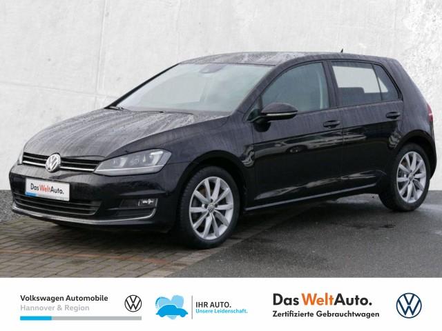 Volkswagen Golf VII 2.0 TDI DSG DPF Highline Navi AHK Xenon PDC Sitzhzg, Jahr 2015, Diesel