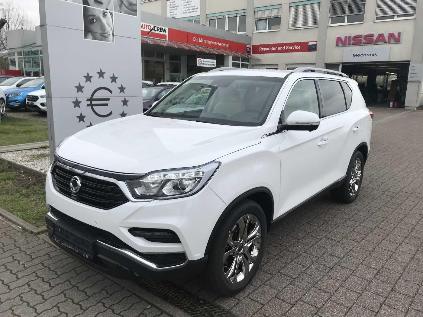 Ssangyong Rexton 2.2 e-XDi 4WD Aut. Noblesse*NAPPA White*, Jahr 2019, Diesel