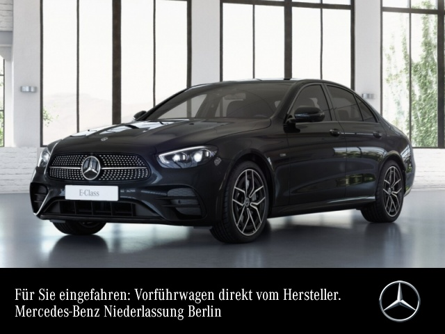 Mercedes-Benz E 300 de AMG+Night+360+MultiBeam+Fahrass+Burmester, Jahr 2020, Hybrid_Diesel