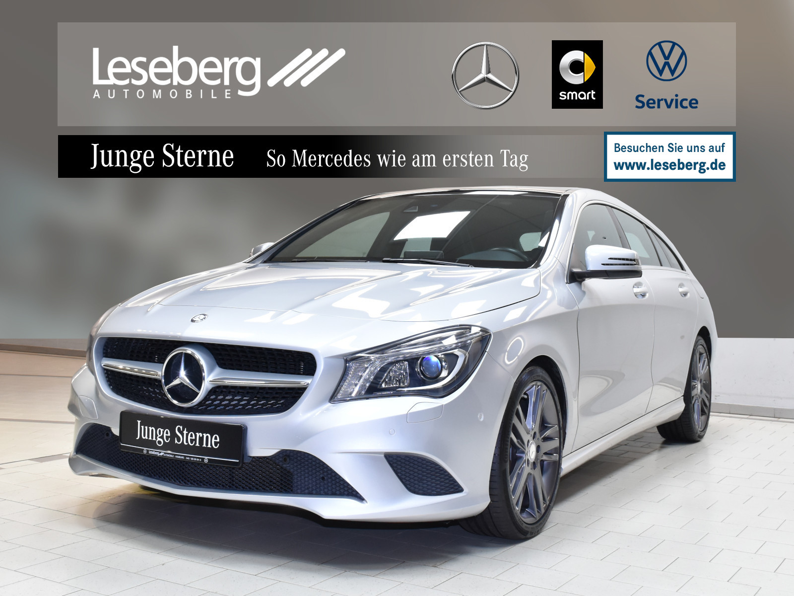 Mercedes-Benz CLA 200 Shooting Brake Urban/7G/Pano/LED/Navi, Jahr 2015, Benzin