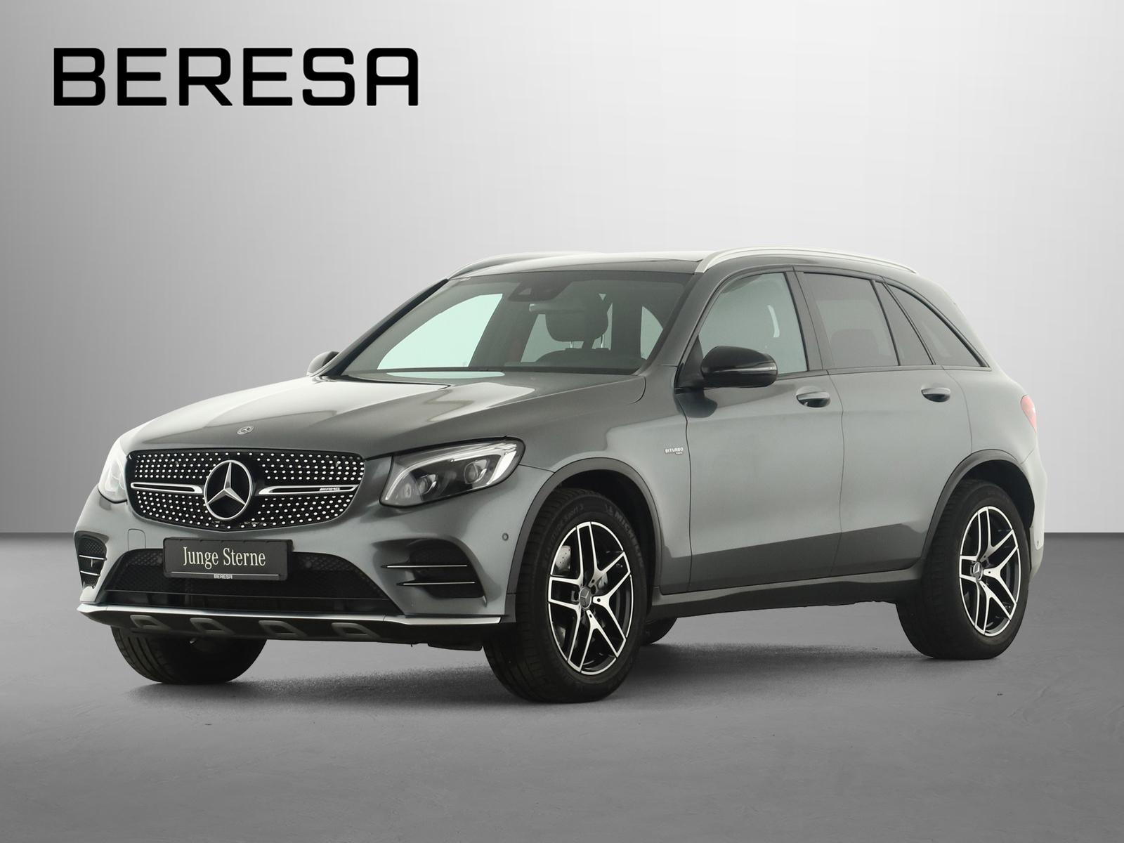 Mercedes-Benz GLC 43 AMG 4M Designo Burmester Pano.-Dach LED, Jahr 2017, Benzin