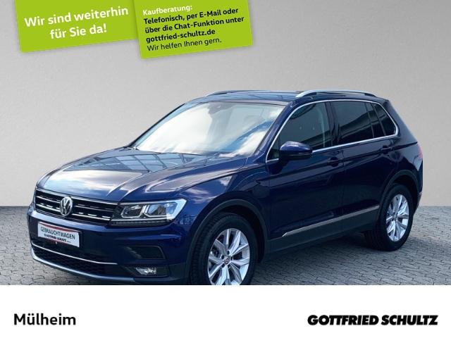 Volkswagen Tiguan 2.0 TDI DSG LED AHK NAVI KAMERA VIRT.COCKP Highline, Jahr 2019, Diesel