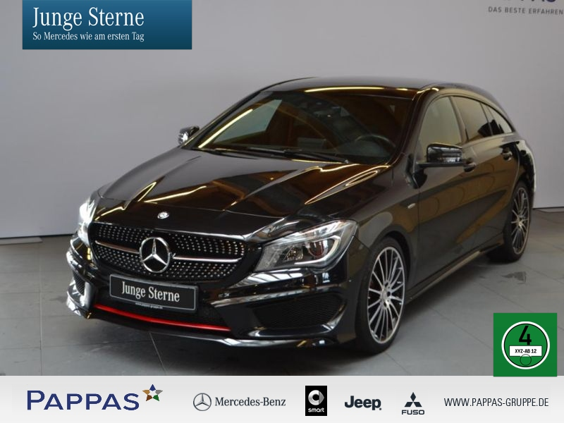 Mercedes-Benz CLA 250 Shooting Brake 4MATIC Sport, Jahr 2015, Benzin