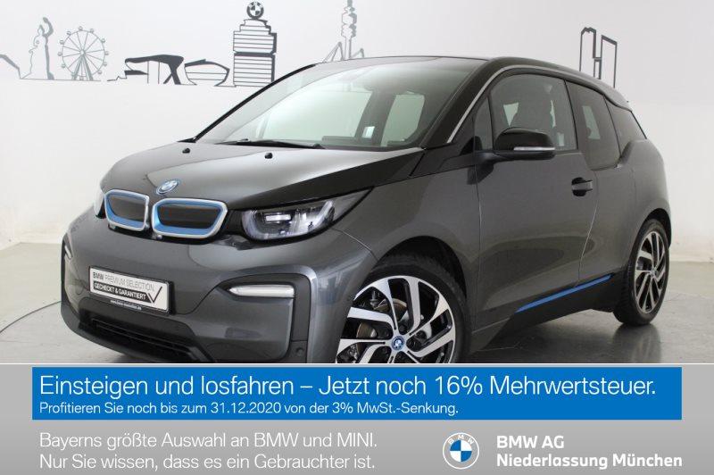 BMW i3 120Ah HK HiFi GSD RFK Navi RTTI Wärmepumpe, Jahr 2019, Elektro