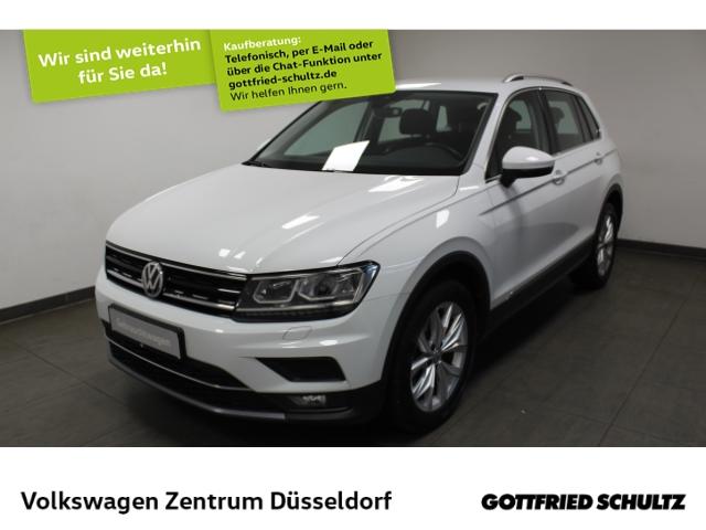 Volkswagen Tiguan Highline 2.0 TDI DSG *LED*Navi*virt Cockpit*SHZ*ACC*GRA*, Jahr 2018, Diesel