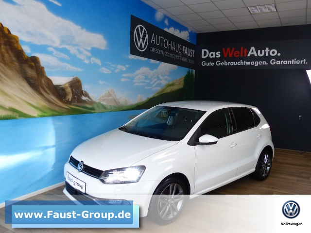 Volkswagen Polo SOUND DSG UPE 24000 EUR Navi LED Climatronic, Jahr 2017, Benzin