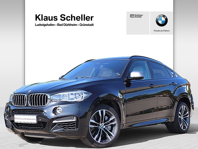 BMW X6 M50d M Sportpaket Head-Up HK HiFi LED GSD, Jahr 2017, Diesel