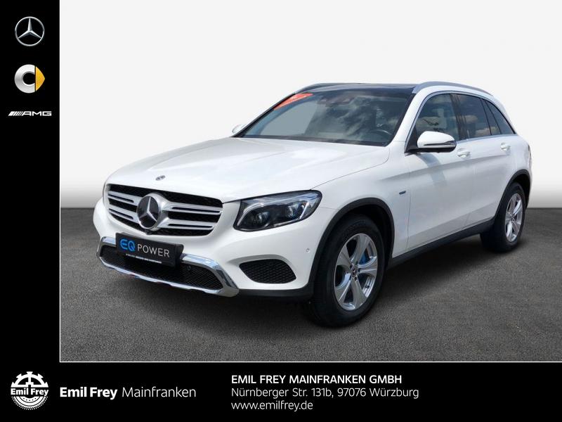 Mercedes-Benz GLC 350 e 4M Air-Body Exclusive-AMG AHK LED, Jahr 2017, Hybrid
