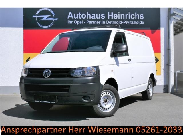 Volkswagen T5 Transporter 2.0 TDI Kasten-Kombi AHK/Parksensoren/ZV/Freisprecheinrichtung/Dachträger/Holzboden, Jahr 2014, Diesel