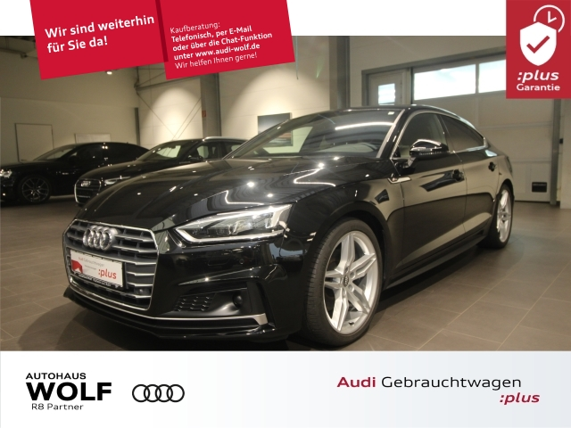 Audi A5 Sportback 35 TDI S-tronic 3xS-line Matrix ACC, Jahr 2019, Diesel