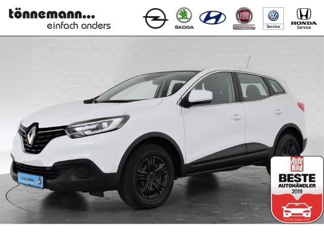 Renault Kadjar Life Energy, LED-Tagfahrlicht, Klimaautomatik, Tempomat, Allwetterreifen, Jahr 2017, Benzin