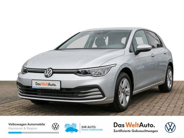 Volkswagen Golf VIII 1.5 TSI Life Navi Pro LED App SHZ PDC DAB+, Jahr 2020, Benzin