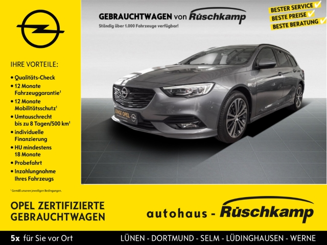 Opel Insignia Sports Tourer Business 4x4 2.0 CDTI OPC Glasdach, Jahr 2019, Diesel