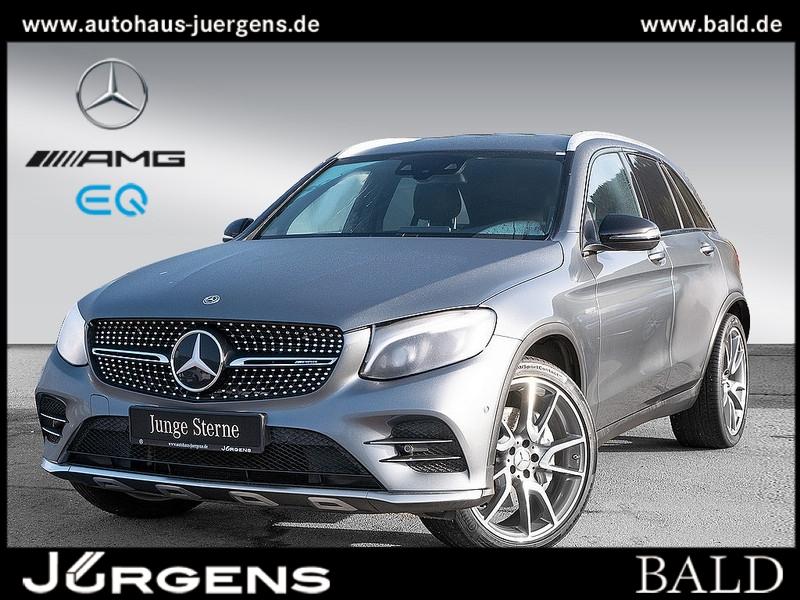 Mercedes-Benz GLC 43 AMG 4M Comand/ILS/Memo/Burm/AHK/Totw/21', Jahr 2017, Benzin