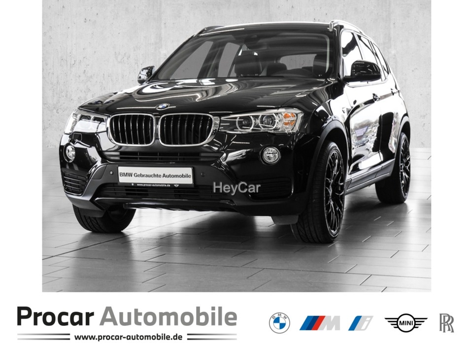 BMW X3 xDrive20d ADVANTAGE Aut. Navi Business Xenon, Jahr 2017, Diesel