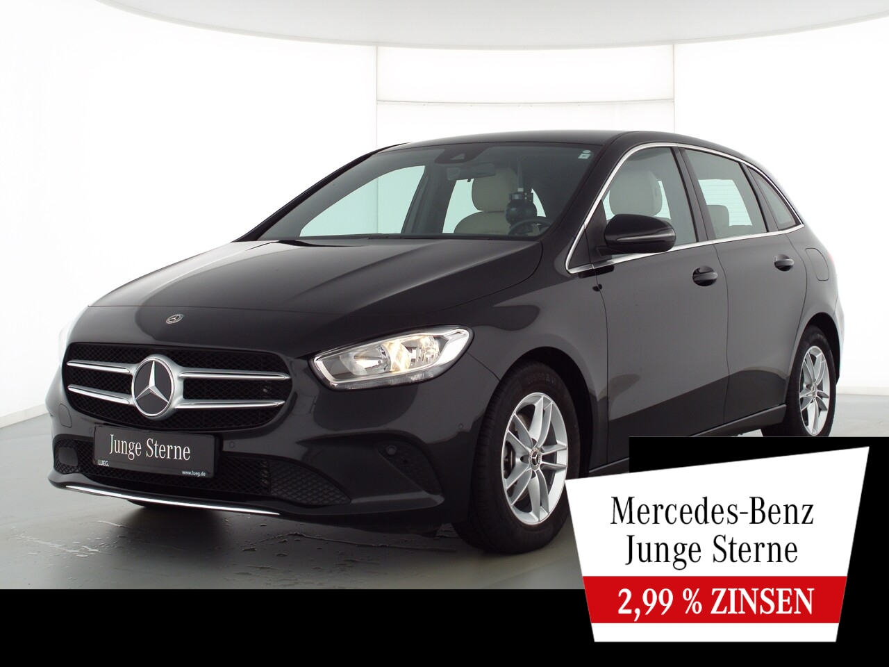 Mercedes-Benz B 180 Progressive+MBUX+NavPrem+Sthzg+Sitzkli+RFK, Jahr 2020, Benzin