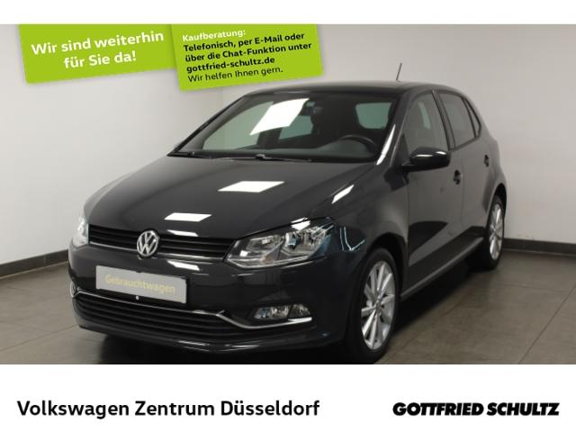 Volkswagen Polo 1.4 TDI DSG Highline *Pano*R-Line*GRA*PDC*SHZ*, Jahr 2017, Diesel