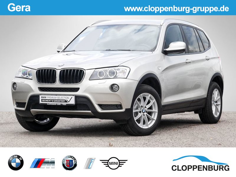 BMW X3 xDrive20i Xenon/Leder/Sitzheizung -, Jahr 2013, Benzin
