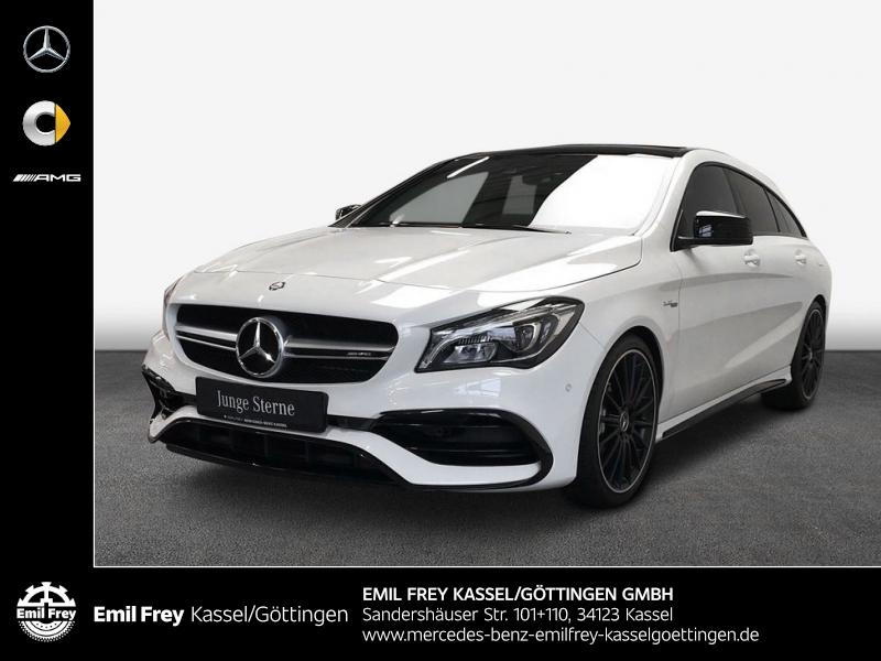 Mercedes-Benz CLA 45 SB AMG+PerfAbg+NIGHT+ExclusivPak+PANO+, Jahr 2016, Benzin