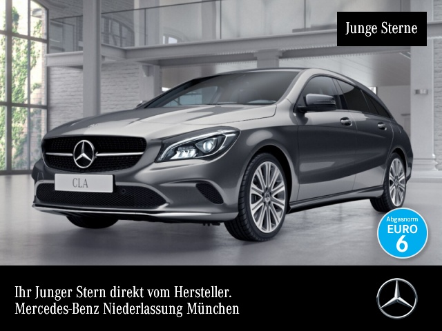Mercedes-Benz CLA 250 Cp. SB Urban Pano LED Night Navi Laderaump, Jahr 2017, Benzin