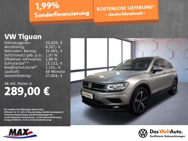 Volkswagen Tiguan 2.0 TDI DSG JOIN LED+ACC+PANO+AHK+KAMERA+, Jahr 2019, Diesel