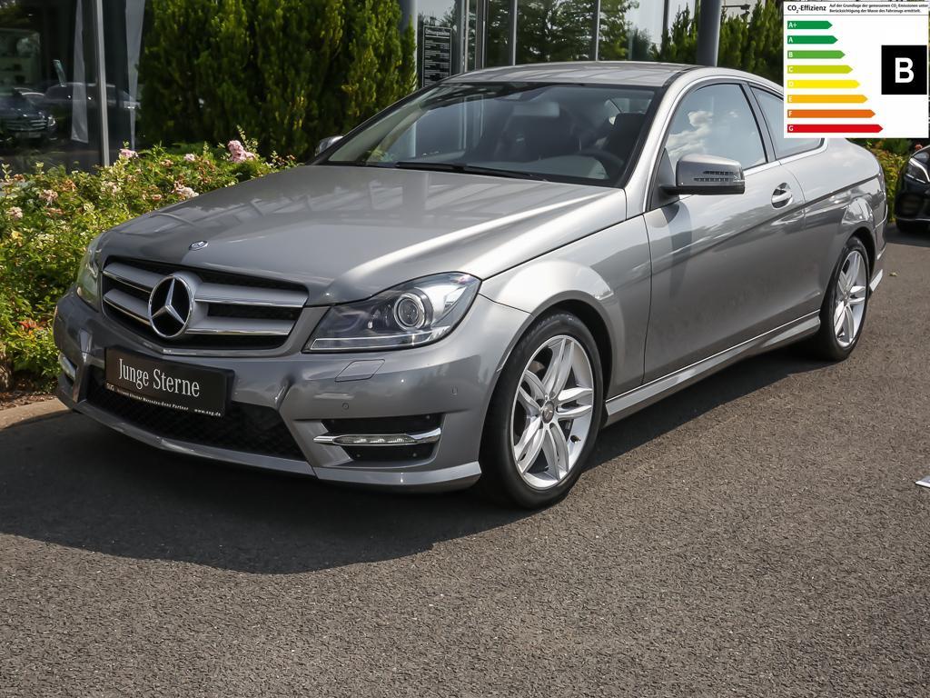 Mercedes-Benz C 250 CDI BE Coupé AMG-Style Comand/Xenon/Parkas, Jahr 2014, Diesel
