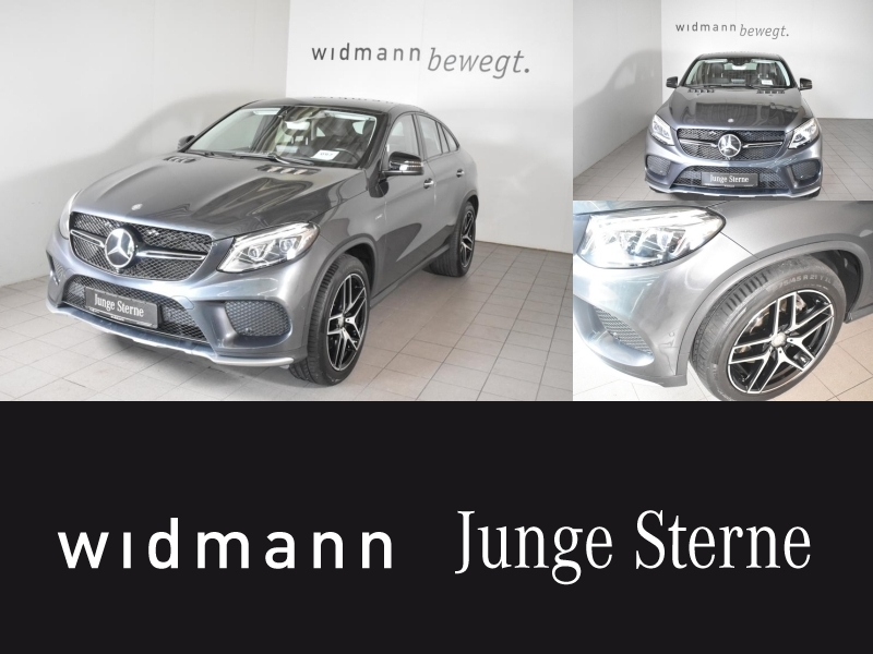 Mercedes-Benz GLE 450 AMG 4M Coupé Sitzklima*Comand*Distronic*, Jahr 2015, Benzin