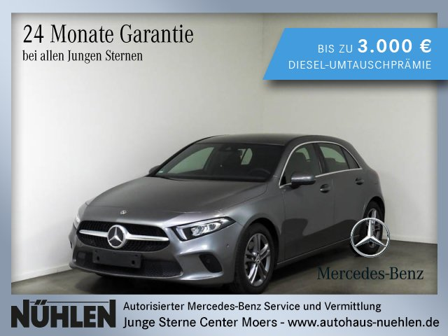 Mercedes-Benz A 220 Kompaktlimousine Progressive+LED+Sitzhzg., Jahr 2019, Benzin