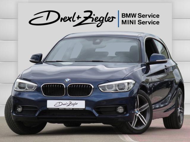 BMW 125d 3-t. Sport SAG Navi WLAN LED AppleCar SHZ, Jahr 2018, Diesel