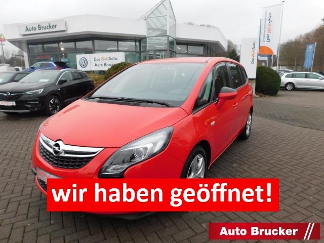 Opel Zafira Tourer C Edition 1.4 Turbo 7-Sitzer Sportfahrwerk Tempomat Park Distance Control vo.&hi., Jahr 2016, Benzin