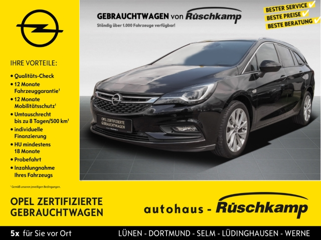 Opel Astra K Sports Tourer INNOVATION Navi Matrix LED, Jahr 2016, Benzin