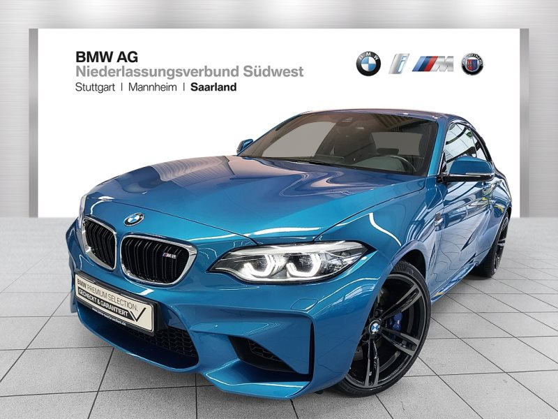 BMW M2 Coupé M Drivers P. HK HiFi LED RFK RTTI Shz, Jahr 2017, Benzin