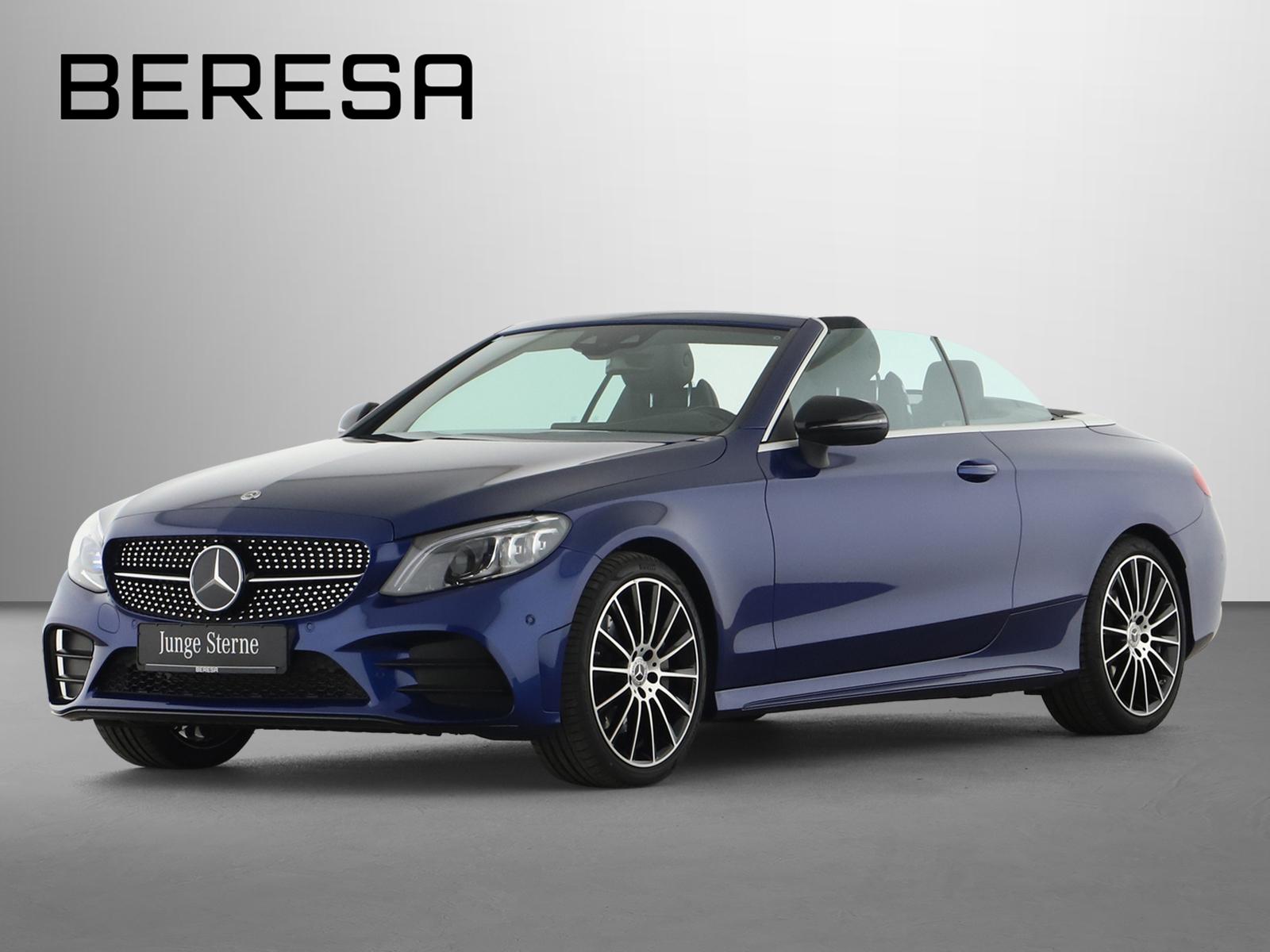 Mercedes-Benz C 300 Cabriolet AMG Comand Fahrassist. Night LED, Jahr 2019, Benzin