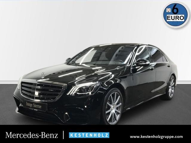 Mercedes-Benz S 63 4MATIC lang BURMESTER+360°+PANO+STANDHZG, Jahr 2018, Benzin