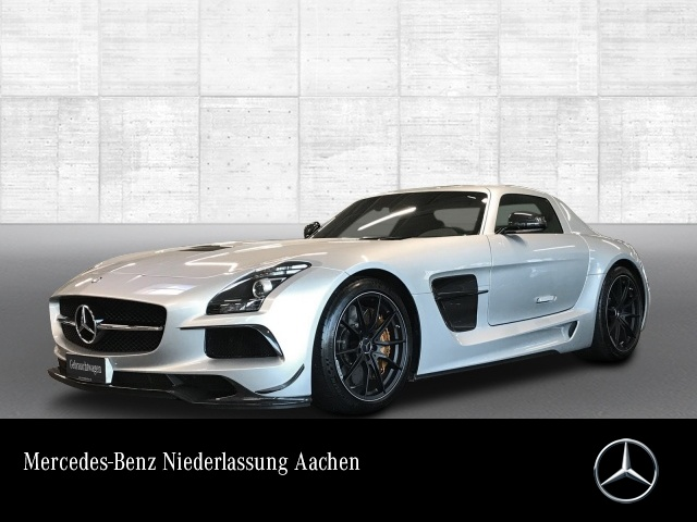 "Mercedes-Benz SLS AMG ""Black Series"" Keramik 1.Hd Deutsch.Fzg., Jahr 2014, petrol"