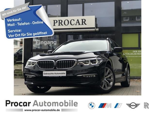 BMW 530i xDrive Touring Navi Prof. Pano LED AHK DA, Jahr 2017, Benzin