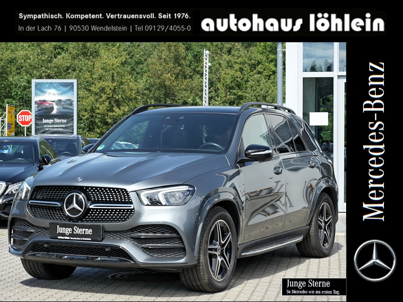 Mercedes-Benz GLE 450 4M AMG PANO-SD+MULTIBEAM+360°KAMERA+BURM, Jahr 2019, Benzin
