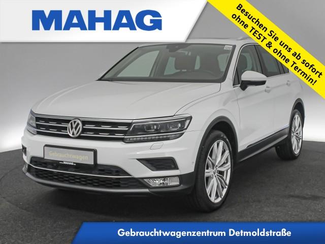 """Volkswagen Tiguan 2.0 TDI 4M Highline DYNAUDIO Pano AHK Standhz. Assistenz ActiveInfo Navi 20"""" DSG, Jahr 2016, diesel"""