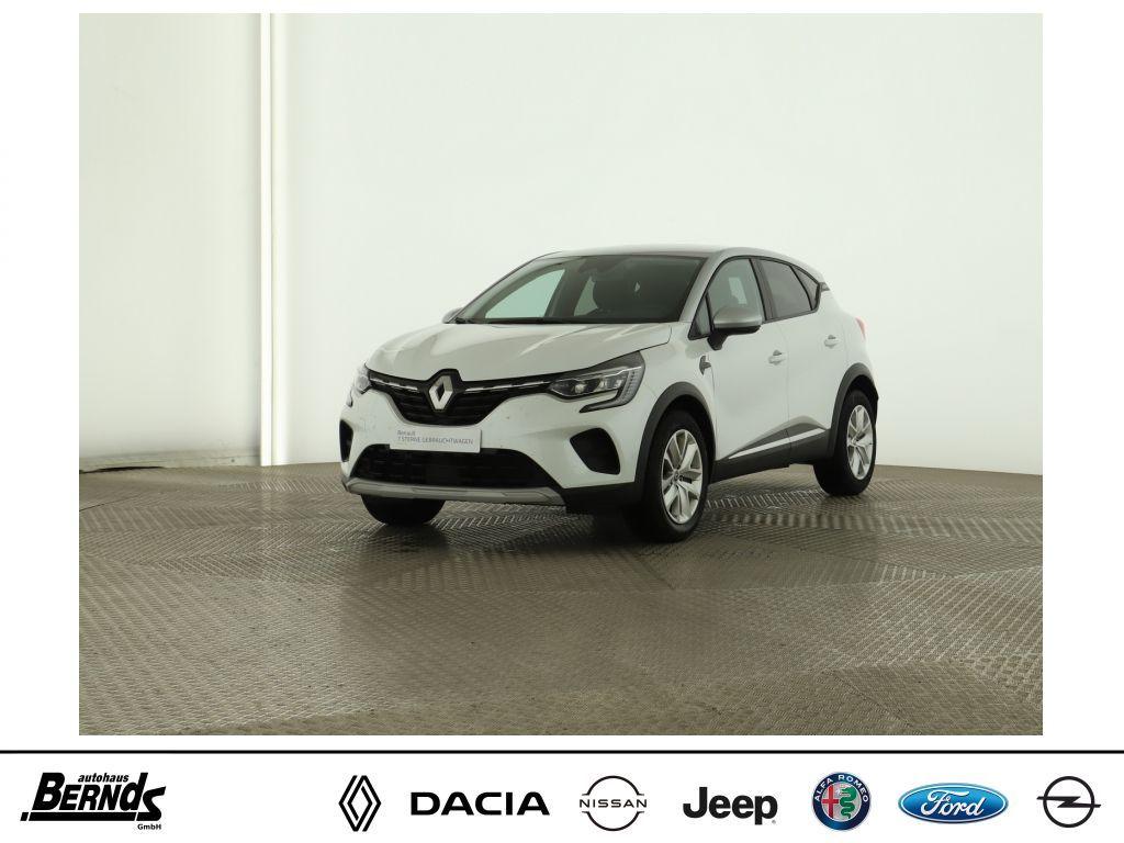 Renault Captur TCe 100 EXPERIENCE DELUXE PKT. NAV PDC BC, Jahr 2020, Benzin