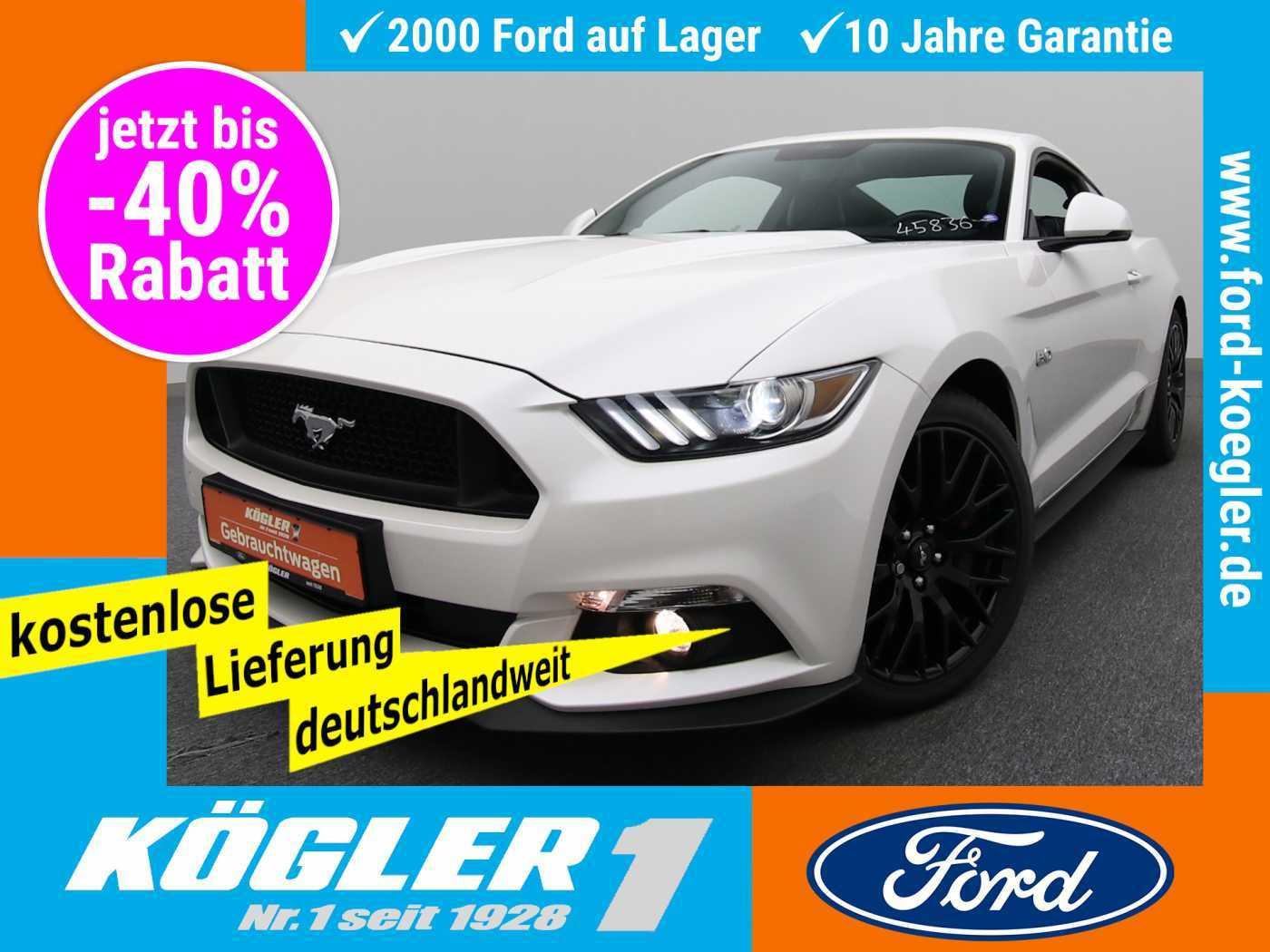 Ford Mustang Fastback 5.0 GT V8 Aut./Premium-Paket 2, Jahr 2017, Benzin