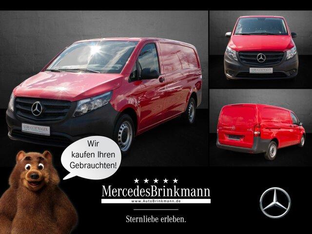 Mercedes-Benz Vito 111 BlueTEC KA Klima/Park-Assis./Holzfußb., Jahr 2018, Diesel