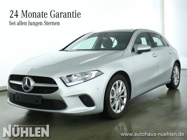 Mercedes-Benz A 180 Kompaktlimousine Progressive+Sitzhzg+Klima, Jahr 2019, Benzin