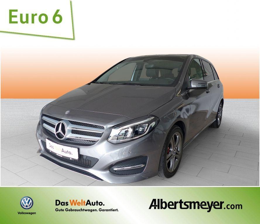 Mercedes-Benz B 220 4Matic Urban / 7G-DCT / LED LEDER NAVI, Jahr 2015, petrol