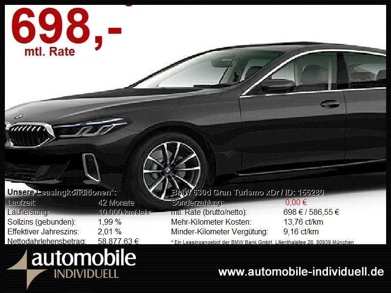 BMW 630 Gran Turismo xDr Luxury Line Laser ACC Navi, Jahr 2021, Diesel