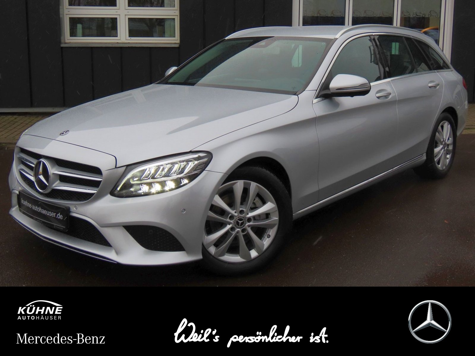 Mercedes-Benz C 220 d T Avantgarde 9G+Busines Plus+HighEnd+360, Jahr 2019, Diesel