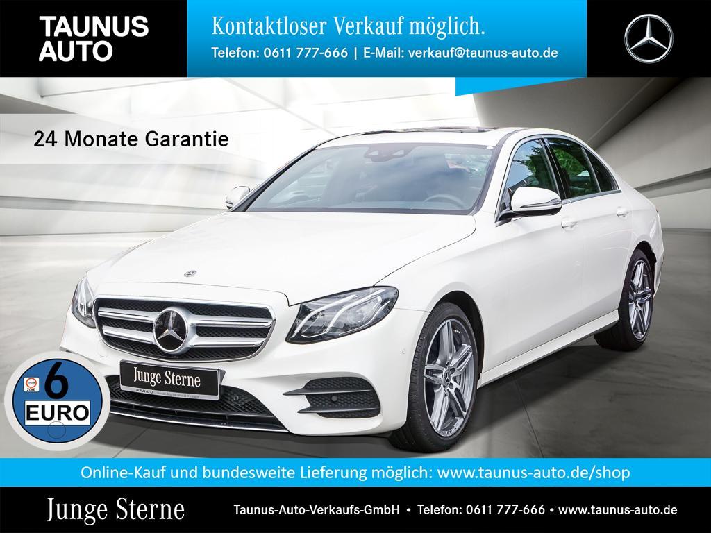 Mercedes-Benz E 450 4M AMG-LINE COMAND WIDE SHD DISTRONIC, Jahr 2018, Benzin